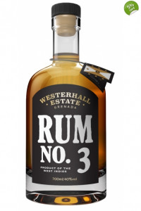 Westerhall Estate Rum No.3- from The Rum Shop