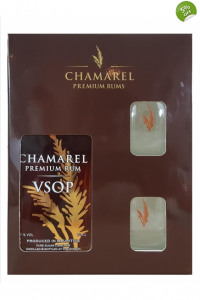 Chamarel VSOP Gift Set- from The Rum Shop
