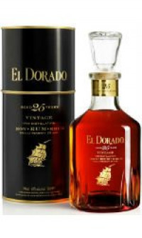 El Dorado - 25 Year Old Demerara Rum-El Dorado from The Drink Shop