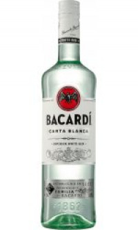 Bacardi - Carta Blanca-Bacardi from The Drink Shop