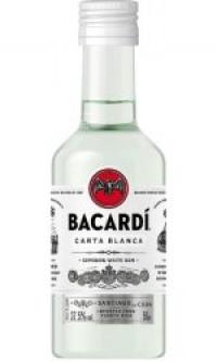 Bacardi - Carta Blanca Miniature-Bacardi from The Drink Shop
