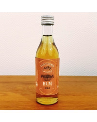 St Aubin Premium Gold Rum 50ml- from The Rum Shop