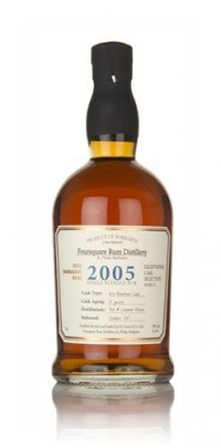 Foursquare 12 Year Old 2005 - Exceptional Cask Selection Dark Rum-Foursquare from Amazon