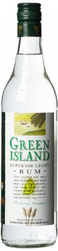 Green Island Superior Light Rum, 70 cl-Green Island Rum from Amazon