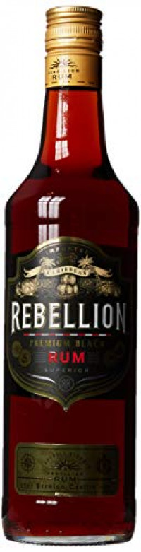 Rebellion Premium Black Rum 70 cl-Rebellion from Amazon