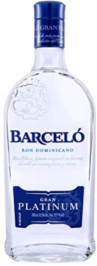 Ron Barcelo Gran Platinum White Rum, 70 cl-Ron Barcelo from Amazon