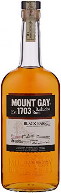 Mount Gay Black Barrel Rum, 70 cl-Mount Gay from Amazon