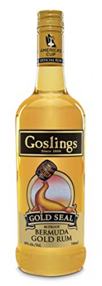 Gosling's Gold Seal Rum, 70 cl-Goslings from Amazon