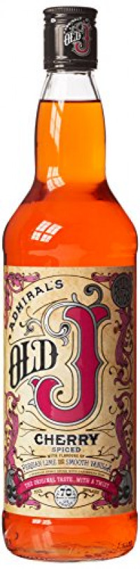 Old J Cherry Spiced Rum, 70 cl-Old J from Amazon