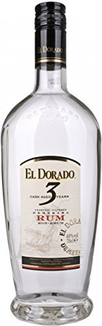 El Dorado 3 Year Old White Rum, 70 cl-El Dorado from Amazon