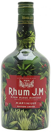 Rhum J.M. Blanc Agricole Martinique Edition Limitee JUNGLE MACOUBA 0,70 lt.-JM from Amazon