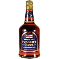 Pussers Blue Label 40% British Navy Rum 70cl Bottle-Pussers from Amazon