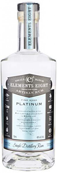 Elements 8 Rum Platinum, 70 cl-Elements 8 from Amazon