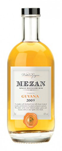 Mezan Guyana Diamond Distillery 2005 Vintage Rum, 70 cl-Mezan from Amazon