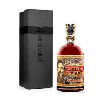 Don Papa Rum, 70 cl in Elegant Gift Box-Don Papa from Amazon