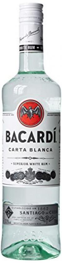 Bacardi Carta Blanca 70cl Bottle-Bacardi from Amazon