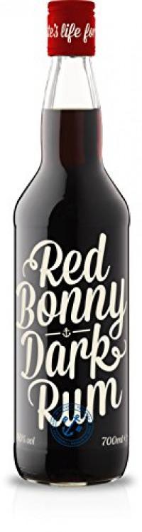 Red Bonny Navy Dark Guyana Rum, 70 cl-Red Bonny from Amazon
