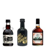 Miniature Spiced Rum Selection 3x5cl-Secret Bottle Shop from Amazon