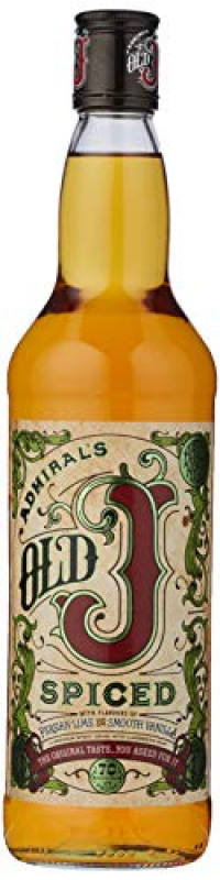 Old J Spiced Rum, 70 cl-Old J Spiced from Amazon