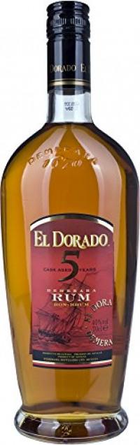 El Dorado 5 Year Old Gold Rum, 70 cl-El Dorado from Amazon