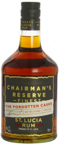 Chairman's Reserve Forgotten Casks Rum, St Lucia Distillers, 70 cl-Chairmans from Amazon
