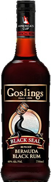 Gosling's Black Seal Rum, 70 cl-Goslings from Amazon