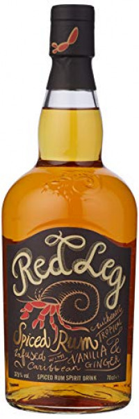 Red Leg Spiced Rum, 70 cl-Red Leg from Amazon