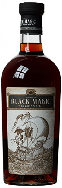 Black Magic Spiced Rum, 70 cl-Black Magic from Amazon