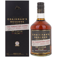 Chairman's Reserve Finest St. Lucia Rum THE FORGOTTEN CASKS 40,00% 0.7 l.-Saint Lucia Distillers from Amazon
