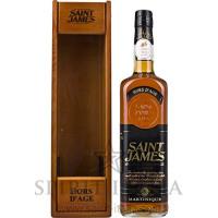 Saint James Hors D'Age Martinique Rum in Holzkiste 43% Vol. 43,00% 0.7 l.-Verschiedene from Amazon