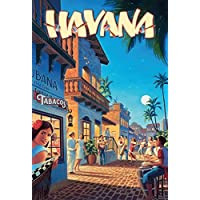 Schatzmix Night Life In Havana Cuba Rum Real Karibik blechschild-Schatzmix from Amazon