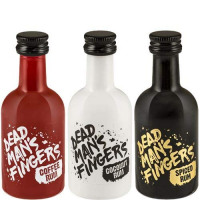 Dead Man's Fingers Spiced Rum Trio 3 x 5cl 37.5% ABV-Dead Man's from Amazon